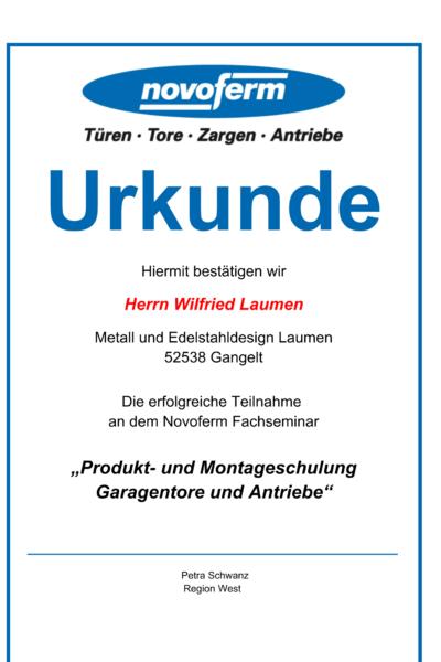 UrkundeProduktundMontageschulungGarentoreundAntriebe-1